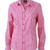 Ladies' Traditional Shirt - rot/weiß