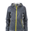 Ladies Outdoor Jacket - iron grey/yellow