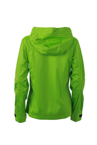 Ladies Outdoor Jacket - spring green/iron grey