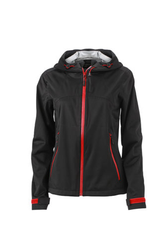 Ladies Outdoor Jacket - black/red