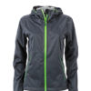 Ladies Outdoor Jacket - iron grey/green