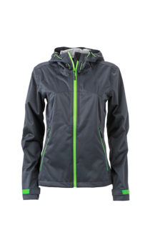 Ladies Outdoor Jacket - iron grey/green