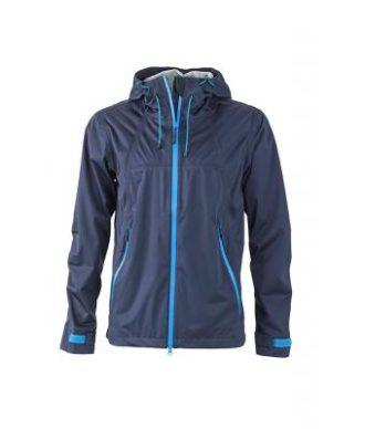 Mens Outdoor Jacket - navy/cobalt