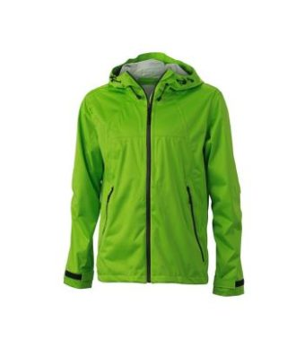 Mens Outdoor Jacket - spring green/iron grey