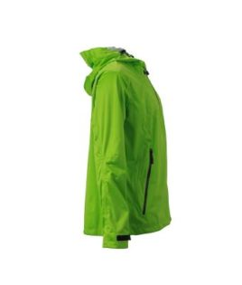 Mens Outdoor Jacket - spring green/iron grey