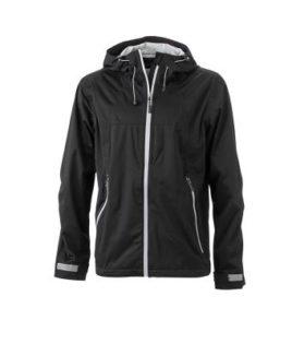Mens Outdoor Jacket - black/silver