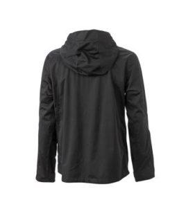 Mens Outdoor Jacket - black/red