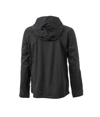 Mens Outdoor Jacket - black/red