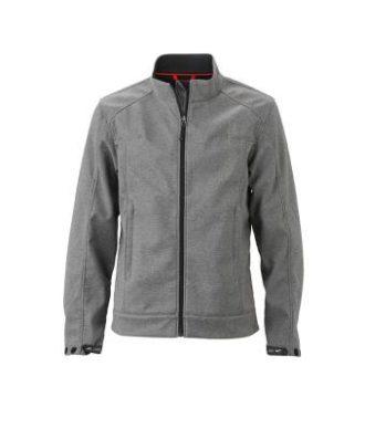 Mens Softshell Jacket - light melange