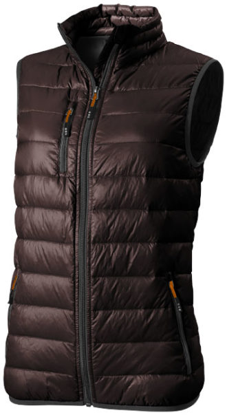 Fairview Leichter Damen Daunen-Bodywarmer - chocolate brown