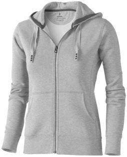 Arora Damen-Pullover mit Kapuze und Reißverschluss