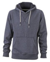 Mens Hoody - dark/denim/melange