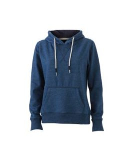Ladies Hoody - light denim melange