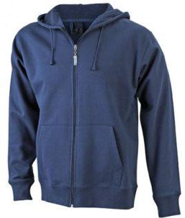 Mens Hooded Jacket - navy