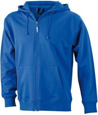 Mens Hooded Jacket - royal
