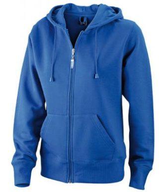 Ladies Hooded Jacket - royal