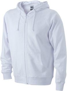 Hooded Jacket - white