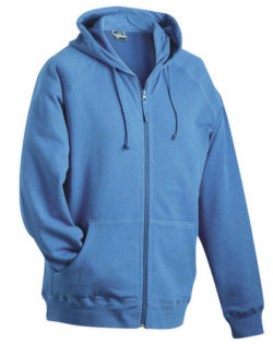 Hooded Jacket - blue