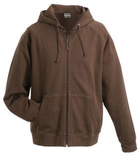 Hooded Jacket - brown