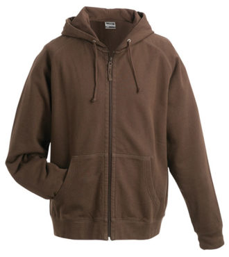Hooded Jacket - brown