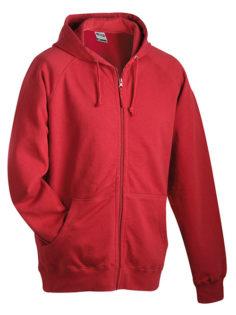 Hooded Jacket - burgundy