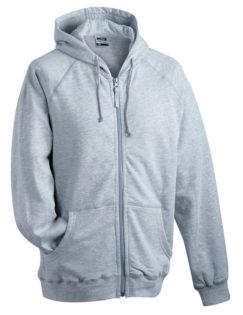 Hooded Jacket - grey heather