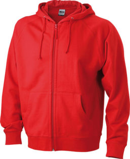 Hooded Jacket - red