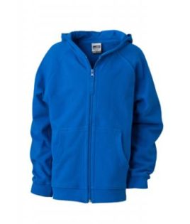 Hooded Jacket Junior - royal