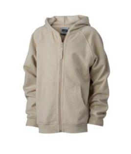 Hooded Jacket Junior - stone