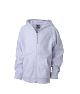 Hooded Jacket Junior - white