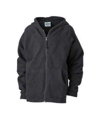 Hooded Jacket Junior - black