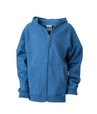 Hooded Jacket Junior - blue