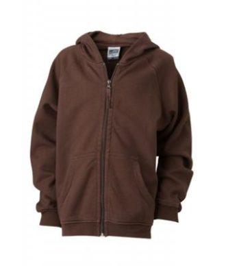 Hooded Jacket Junior - brown