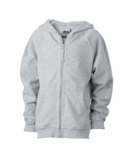 Hooded Jacket Junior - grey heather