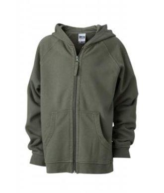 Hooded Jacket Junior - olive