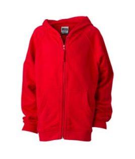 Hooded Jacket Junior - red