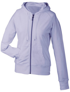 Ladies Hooded Jacket - lilac