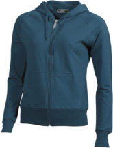 Ladies Hooded Jacket - petrol