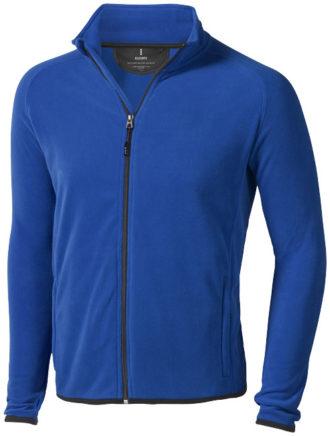 Brossard Mikrofleece Jacke - blau