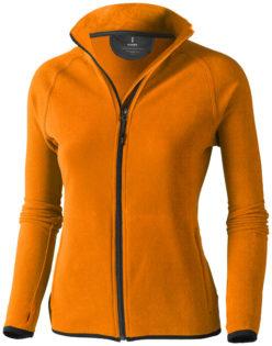 Brossard Mikrofleece Damenjacke - orange