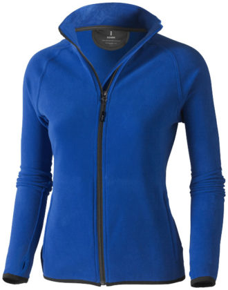 Brossard Mikrofleece Damenjacke - blau