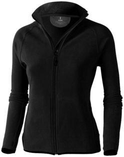 Brossard Mikrofleece Damenjacke - schwarz