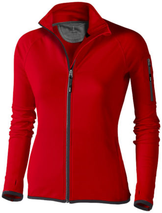 Damen Mani Power Fleece Jacke - rot