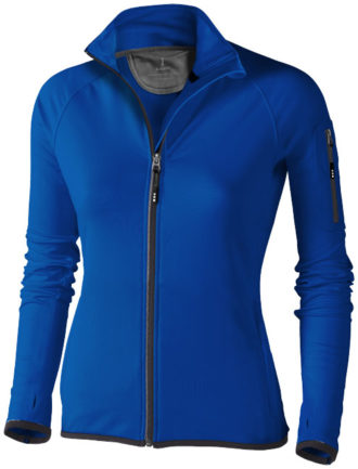 Damen Mani Power Fleece Jacke - blau