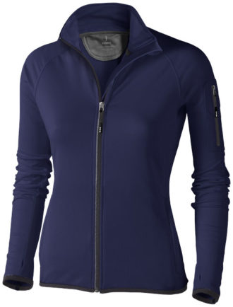 Damen Mani Power Fleece Jacke - navy