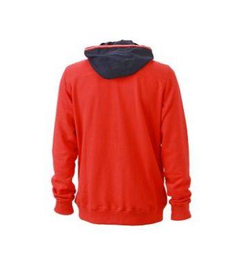 Mens Hoodie - Rückenansicht