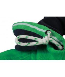 Ladies Hooded Jacket - Kontrastfarbiges Bandan Kapuze