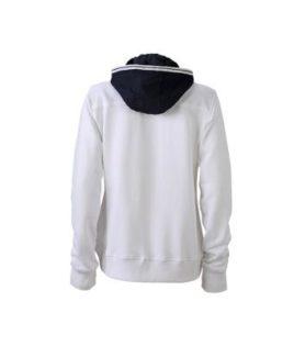 Ladies Hooded Jacket - Rückenansicht