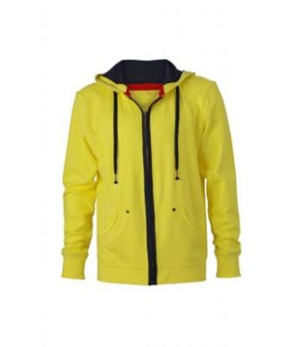 Mens Urban Sweat - yellow/navy