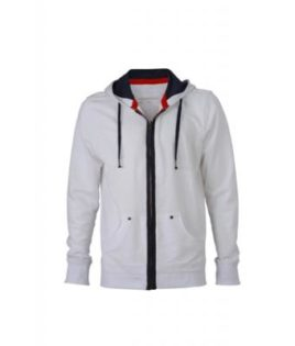 Mens Urban Sweat - white/navy
